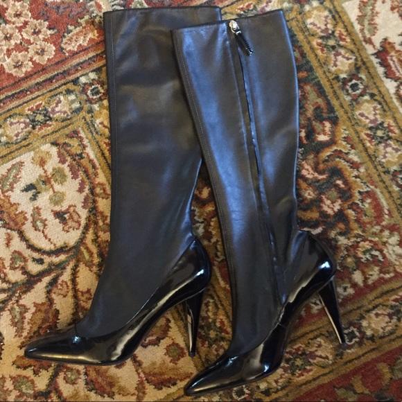 58bdfb1afa649 Giuseppe Zanotti Shoes - Giuseppe Zanotti black leather boots